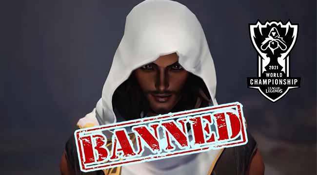 Akshan chính thức bị cấm ở CKTG 2021, Riot đưa ra lý do thỏa đáng