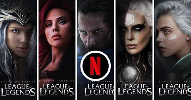 Tin đồn: Netflix sẽ chịu trách nhiệm sản xuất live action của LMHT