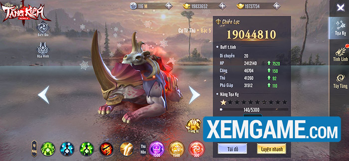 Tàng Kiếm Mobile | XEMGAME.COM
