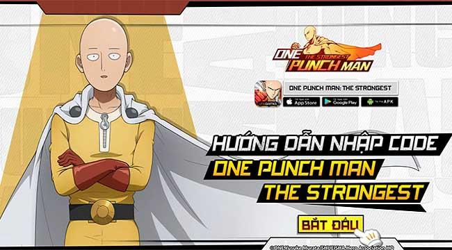 One Punch Man: The Strongest tặng 654 giftcode nhân dịp ra mắt chính thức