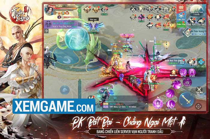 Thần Kiếm Mobile | XEMGAME.COM