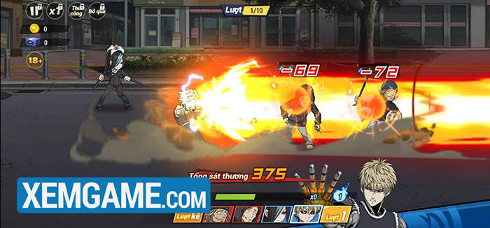 This image has an empty alt attribute; its file name is trai-nghiem-one-punch-the-strongest-vng-9.jpg