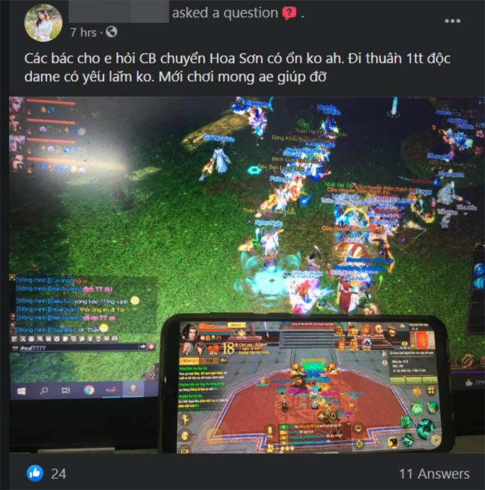 Trailer 3D Hoa Sơn thổi bùng lên ngọn lửa đam mê cho người chơi Tân Thiên Long Mobile VNG
