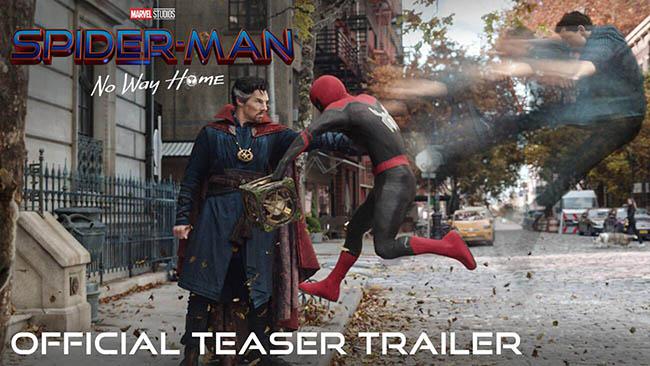 Spider-Man: No Way Home tung teaser, ác nhân từ các vũ trụ Spiderman khác xuất hiện
