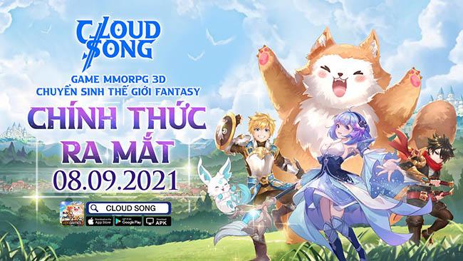 Cloud Song VNG chính thức ấn định ngày ra mắt vào 8/9 tới