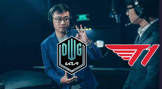 """BLV Hoàng Luân dự đoán chung kết LCK: """"DK sẽ dứt điểm T1 sau 4 ván"""""""