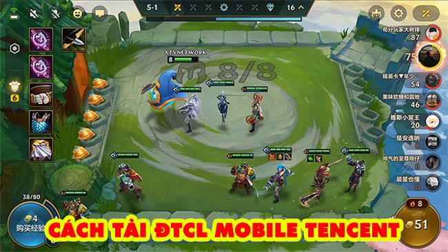 Toàn tập cách tải Đại Chiến Xẻng Vàng Tencent – trải nghiệm lại mùa 1 Đấu Trường Chân Lý trên mobile