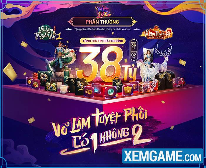 Võ Lâm 102 chuẩn bị bước vào Vòng 2: Sàn đấu liên server cho VLTK và VLTK 1 Mobile