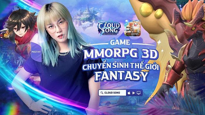 Cloud Song VNG công bố đồng hành: Nữ streamer nổi tiếng và mỹ nhân của nhóm hài triệu view