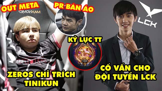 Update LMHT: Zeros chỉ trích Tinikun vào SBTC chỉ để bán áo, Văn Tùng làm cố vấn đội LCK