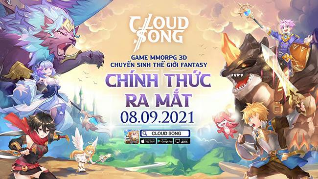 Cloud Song VNG chính thức ra mắt game thủ Việt