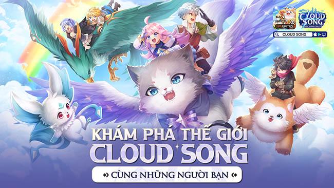 Nhân dịp ra mắt Cloud Song VNG tặng 456 giftcode giá trị