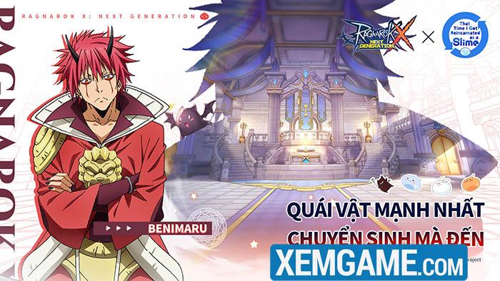 """Ragnarok X: Next Generation gây sốt khi bắt tay cùng anime hot """"Chuyển sinh thành Slime"""""""