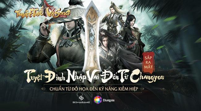 Tuyệt Thế Vô Song SohaGame – thêm một sản phẩm game kiếm hiệp sắp cập bến VN