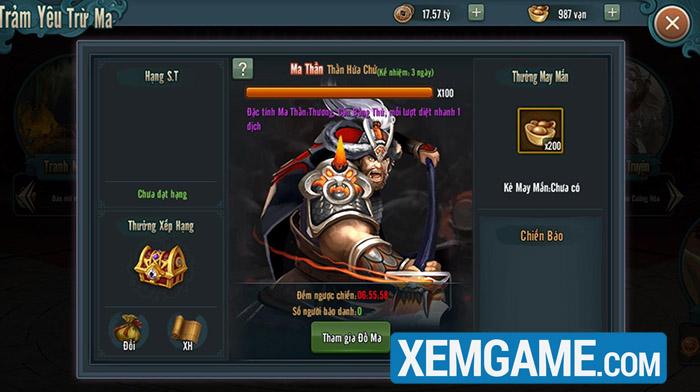 Khám phá dàn hoạt động mê hồn của Đế Vương Tam Quốc Mobile