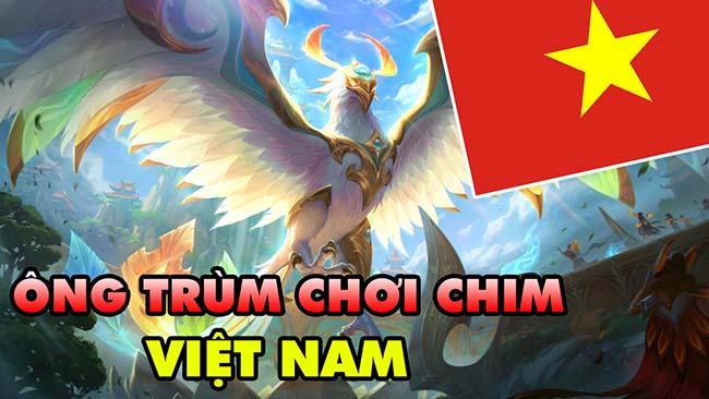 LMHT: Boy One Champ Anivia Việt Nam – Ông Trùm Chơi Chim