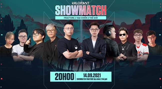 """Cặp """"song long"""" Refund Gaming quẩy nhiệt trong Showmatch Fracture của Valorant"""