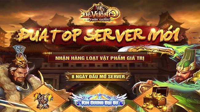 """Hơn 30.000 game thủ đang """"u mê không lối thoát"""" với Đế Vương Tam Quốc, lý do là đây!"""