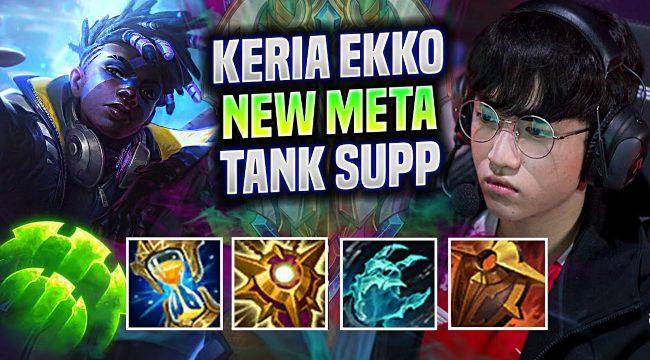 LMHT: Học chơi Ekko Hỗ Trợ siêu hiệu quả cùng T1 Keria