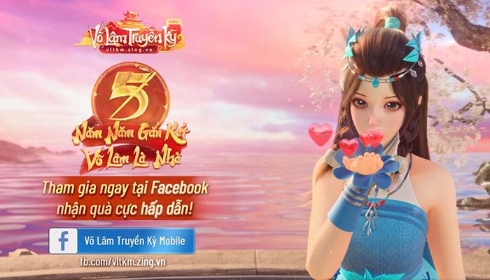 Sinh nhật Võ Lâm Truyền Kỳ Mobile 5 tuổi: Game thủ thỏa sức sáng tạo với muôn kiểu chúc mừng