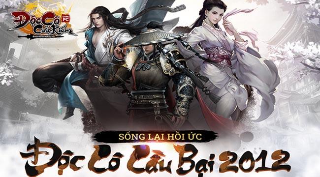 Đúng 9h30 ngày 20/9, Độc Cô Cầu Bại PC 2012 chính thức khai mở máy chủ Hoa Sơn