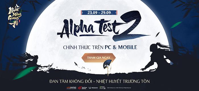 Vượt mốc 770.000 đăng ký trước, Nhất Mộng Giang Hồ VNG bước vào Alpha Test 2