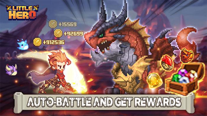 Little Hero: Idle RPG – game nhập vai nhàn rỗi với nền đồ họa tươi tắn