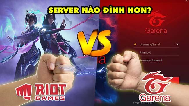 So sánh sự khác biệt giữa LMHT do Riot Games và Garena vận hành – Máy chủ nào bá hơn?