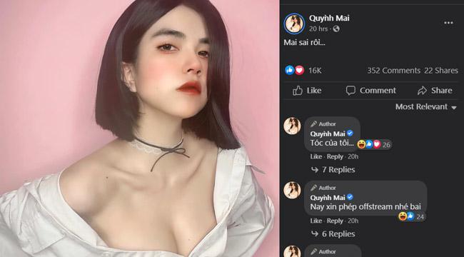"""Khoe tóc mới, nhưng fan chỉ khen Mai Dora """"trắng tròn"""" là thế nào??"""