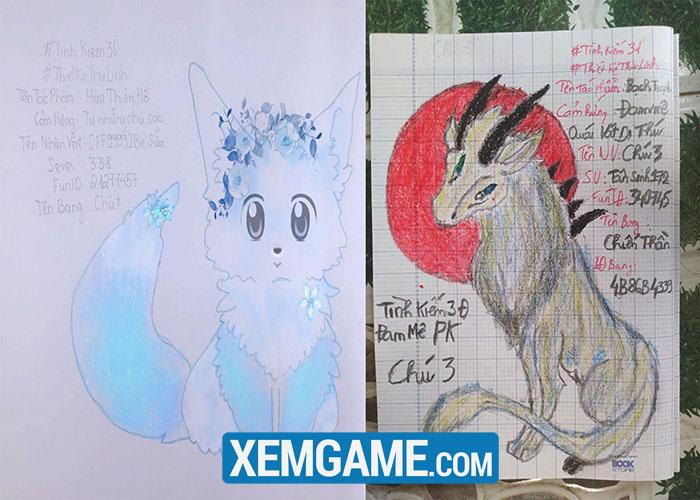 Cười bò với loạt thiết kế Thú Linh khó đỡ của game thủ Tình Kiếm 3D