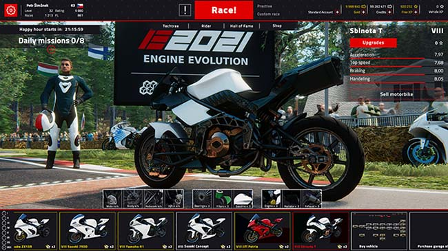 Engine Evolution 2021 – game thể thao cực hấp dẫn đang mở miễn phí