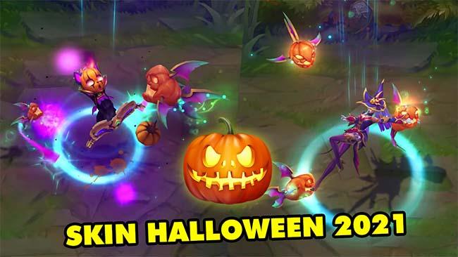 Siêu kute với loạt Skin Halloween 2021 đầy ma mị trong LMHT