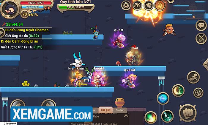 Nhẫn Giả Truyền Kỳ - game MMO chibi cuộn cảnh mới sắp ra mắt