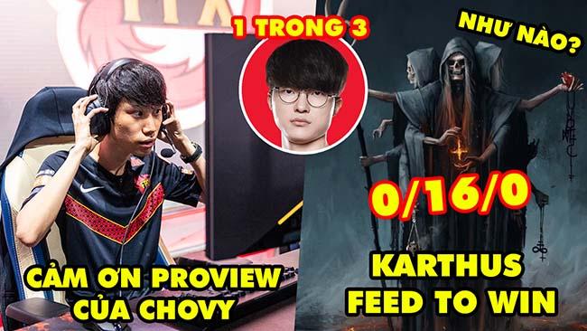 Update LMHT: DoinB cảm ơn proview của Chovy và Showmaker – Chiến thuật Karthus feed to win cực HOT