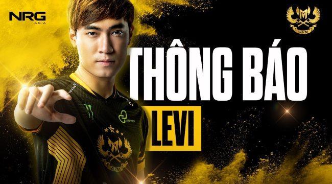 LMHT: GAM thông báo Levi hết hạn hợp đồng, cho phép đội khác tự do đàm phán