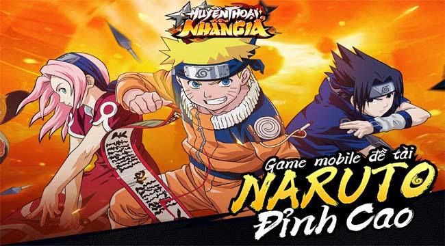 Huyền Thoại Nhẫn Giả – tựa game mobile mới về Naruto sắp được GOSU cho ra mắt