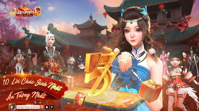 Mừng tháng sinh nhật, game thủ Võ Lâm Truyền Kỳ Mobile đang rộn ràng chuyện gì?