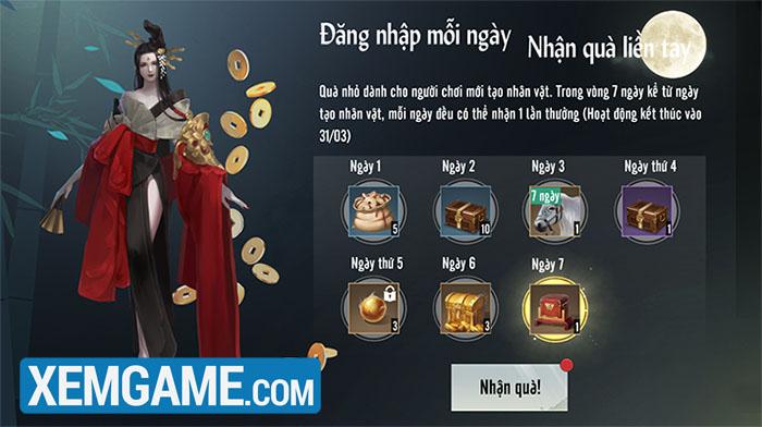 Nhất Mộng Giang Hồ VNG: Chuỗi sự kiện đặc biệt mừng ngày ra mắt chính thức 11/10