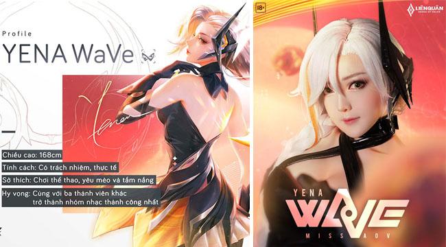 """Cộng đồng Liên Quân Mobile mê mẩn trước cosplay Yena Wave """"chuẩn chỉnh"""""""