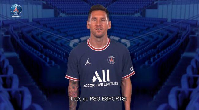 LMHT: Messi, Neymar cổ vũ PSG Talon trước ngày ra quân tại CKTG 2021
