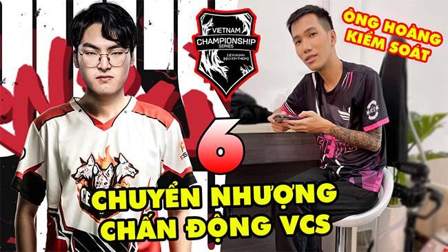TOP 6 thương vụ chuyển nhượng CHẤN ĐỘNG nhất lịch sử VCS LMHT Việt Nam