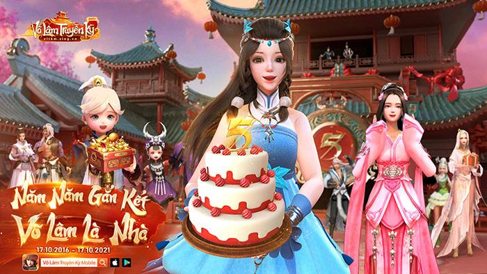 VLTK Mobile tung poster sinh nhật, game thủ thi nhau cài hình nền máy tính và điện thoại