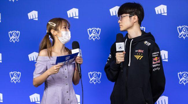 LMHT: MC Wendy cảm động trước sự chuyên nghiệp tuyệt đối của Faker