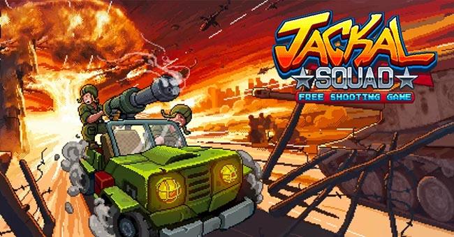 Jackal Squad – game bắn súng đi cảnh đưa người chơi về tuổi thơ điện tử băng