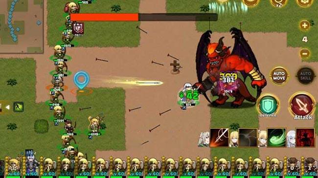 Eternal Saga : Region Tactics – game chiến thuật điều binh khiển tướng hiếm có trên mobile