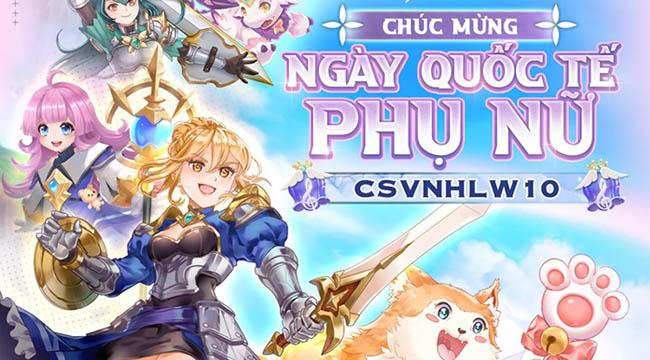 Trong Cloud Song VNG, cả nam lẫn nữ game thủ đều vui mừng chào đón 20/10
