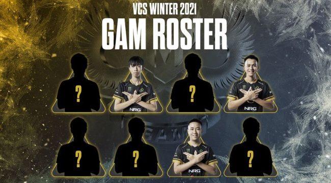 LMHT: GAM nhá hàng đội hình 8 thành viên dự VCS mùa Đông 2021