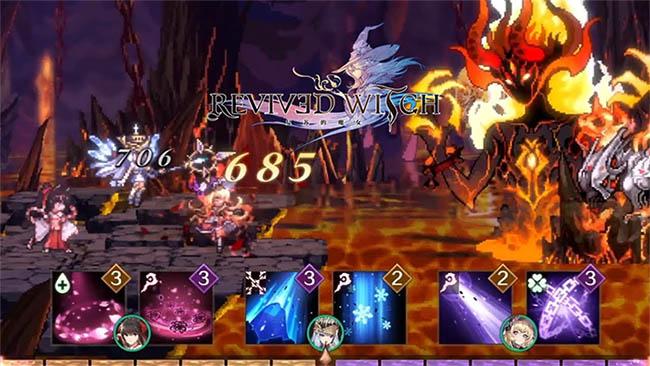 Revived Witch – game nhập vai màn hình ngang mê hoặc đang mở đăng ký trước